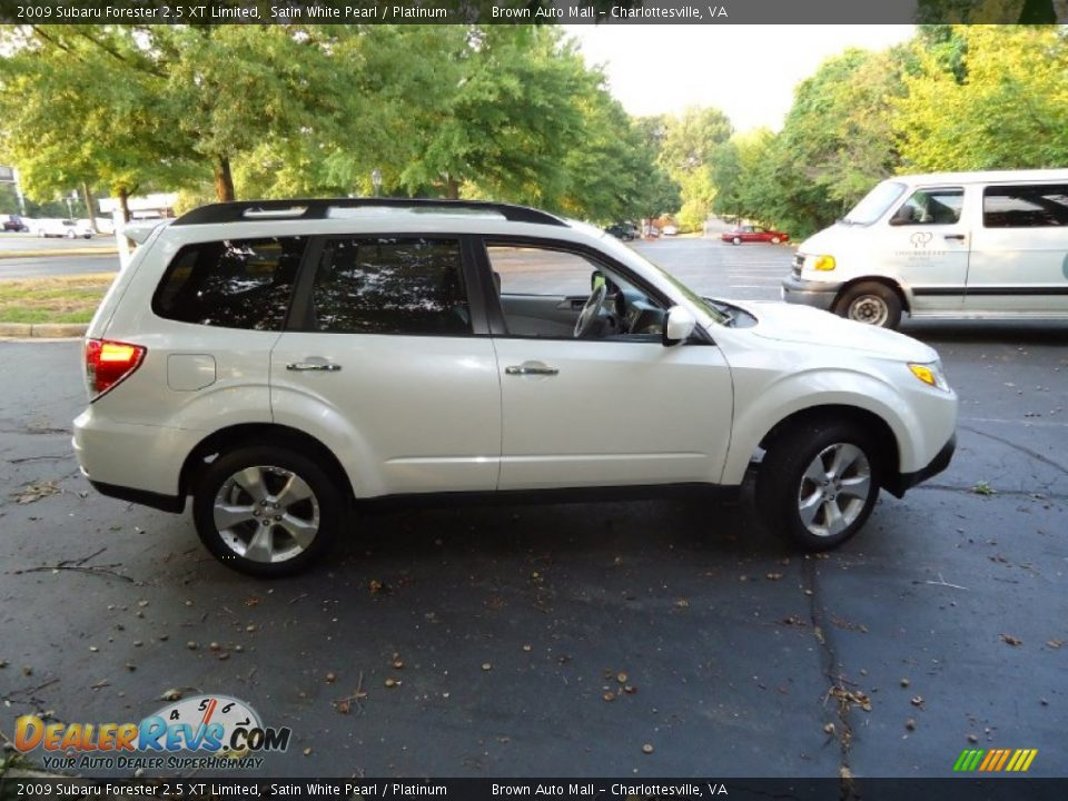 satin white pearl 2009 subaru forester 2 5 xt limited. Black Bedroom Furniture Sets. Home Design Ideas