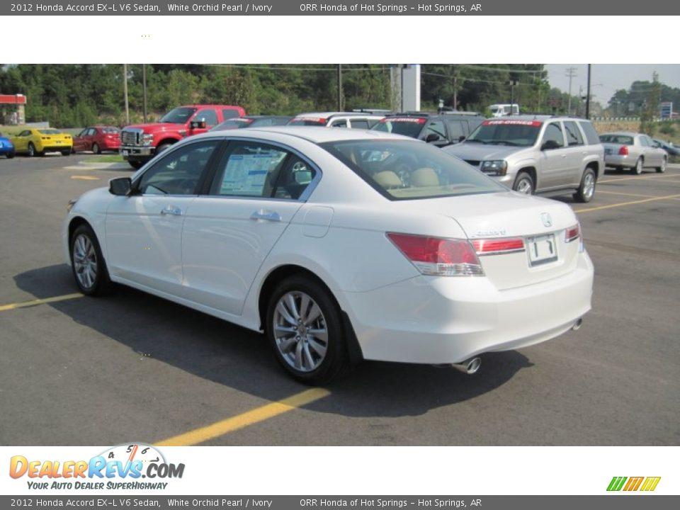 2012 honda accord ex l v6 sedan white orchid pearl ivory photo 3. Black Bedroom Furniture Sets. Home Design Ideas