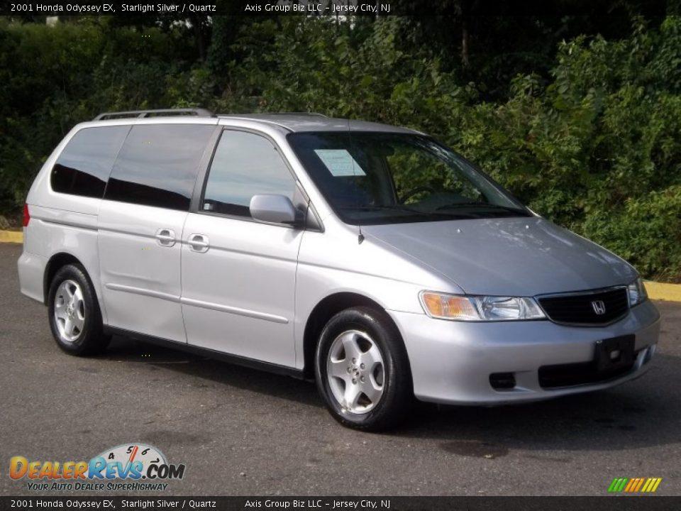 2001 Honda Odyssey EX Starlight Silver / Quartz Photo #4 | DealerRevs ...