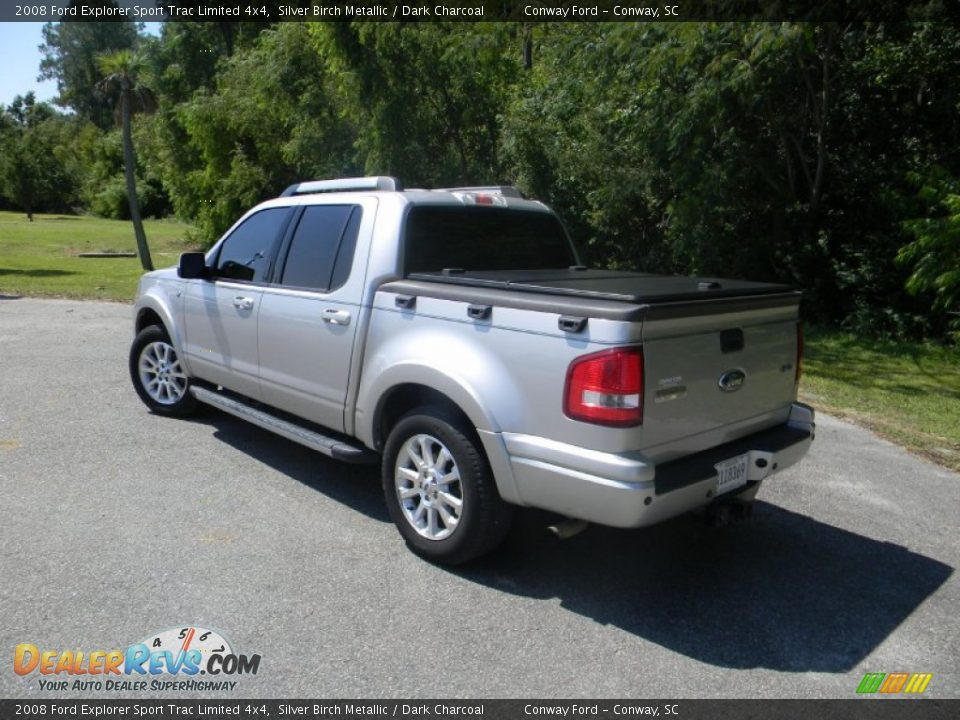 Ford Dealer Locator >> 2008 Ford Explorer Sport Trac Limited 4x4 Silver Birch ...