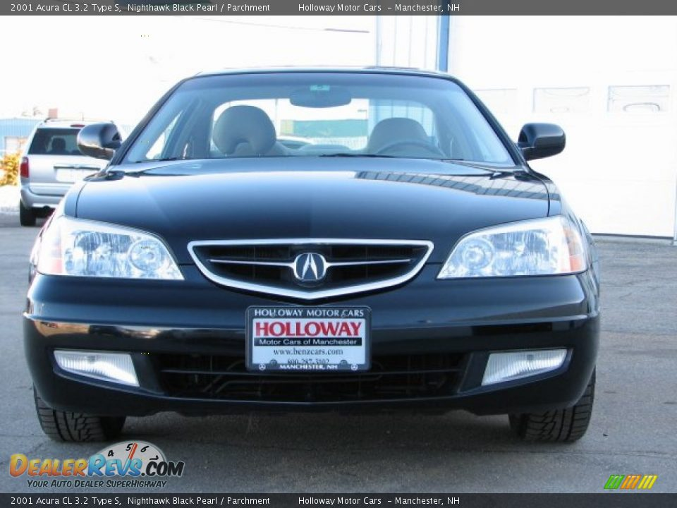 2001 acura cl 3 2 type s nighthawk black pearl parchment photo 2. Black Bedroom Furniture Sets. Home Design Ideas