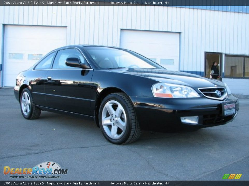 2001 acura cl 3 2 type s nighthawk black pearl parchment photo 3. Black Bedroom Furniture Sets. Home Design Ideas