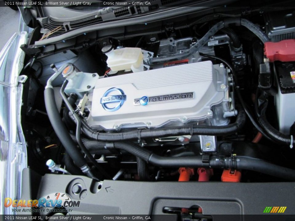 2011 nissan leaf sl 80kw 107hp ac synchronous electric