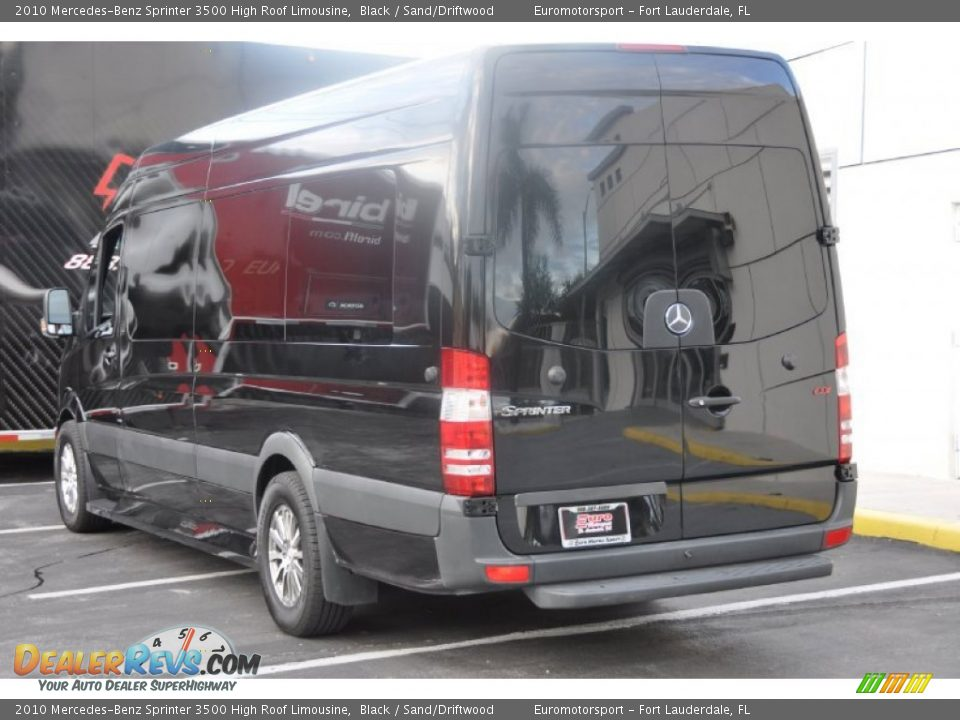 2010 mercedes benz sprinter 3500 high roof limousine black for Mercedes benz sprinter service