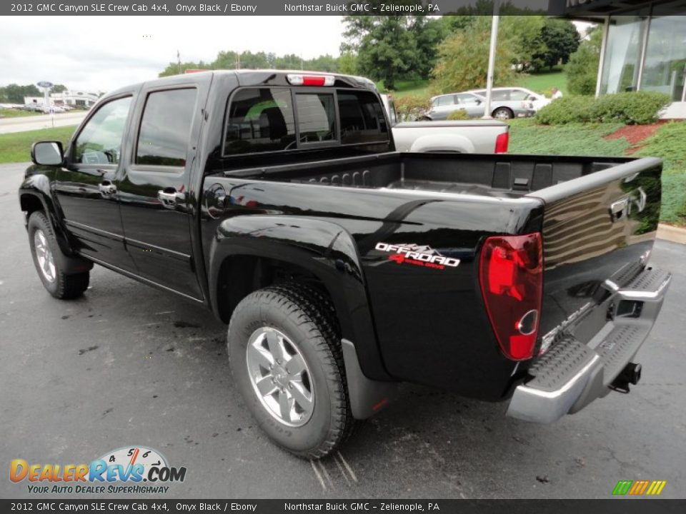 2012 gmc canyon sle crew cab 4x4 onyx black ebony photo 3. Black Bedroom Furniture Sets. Home Design Ideas