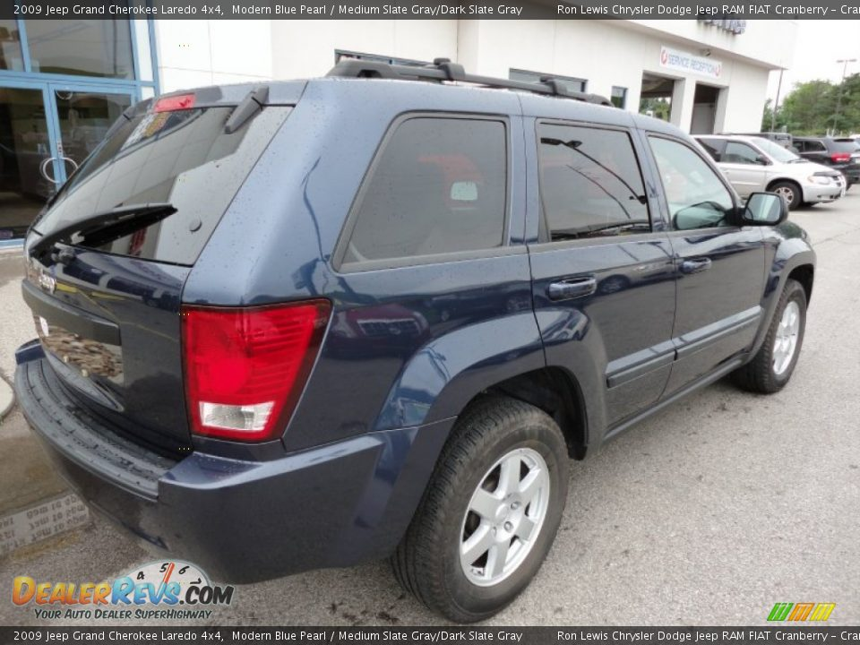 2009 jeep grand cherokee laredo 4x4 modern blue pearl medium slate gray dark slate gray photo. Black Bedroom Furniture Sets. Home Design Ideas