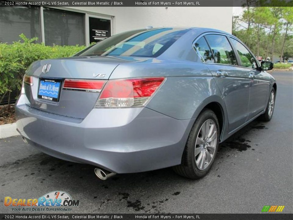 2012 honda accord ex l v6 sedan celestial blue metallic black photo 3. Black Bedroom Furniture Sets. Home Design Ideas