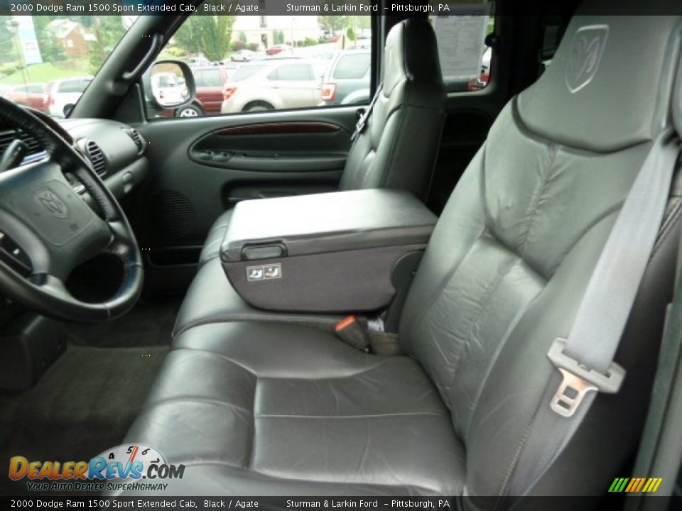 Agate Interior 2000 Dodge Ram 1500 Sport Extended Cab Photo 8