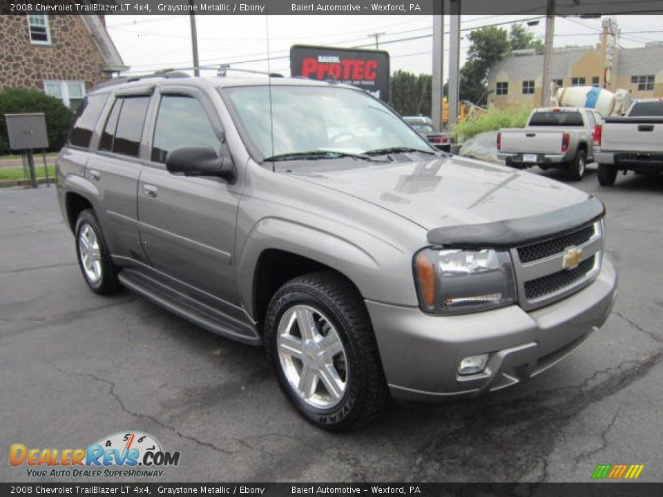 2008 Chevrolet TrailBlazer LT 4x4 Graystone Metallic ...