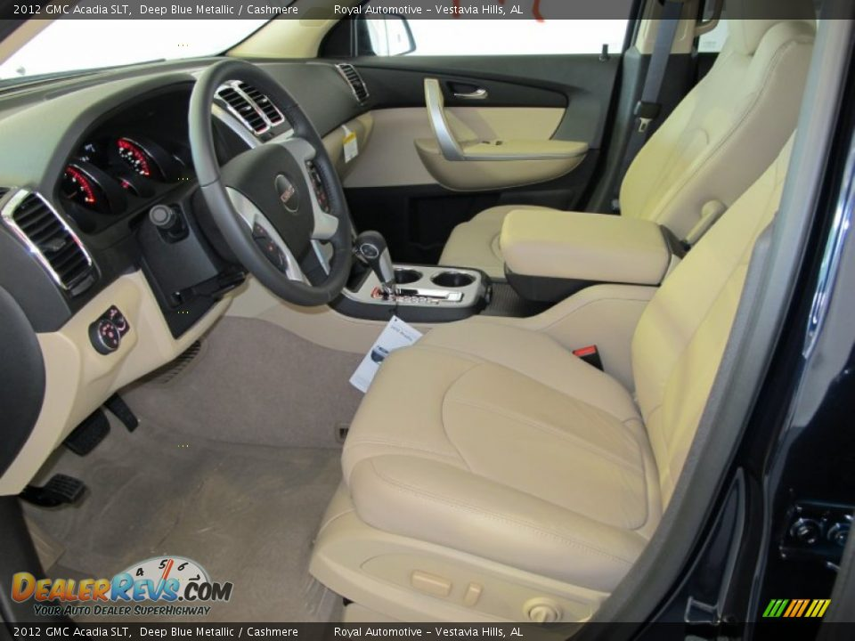 Cashmere Interior 2012 Gmc Acadia Slt Photo 13