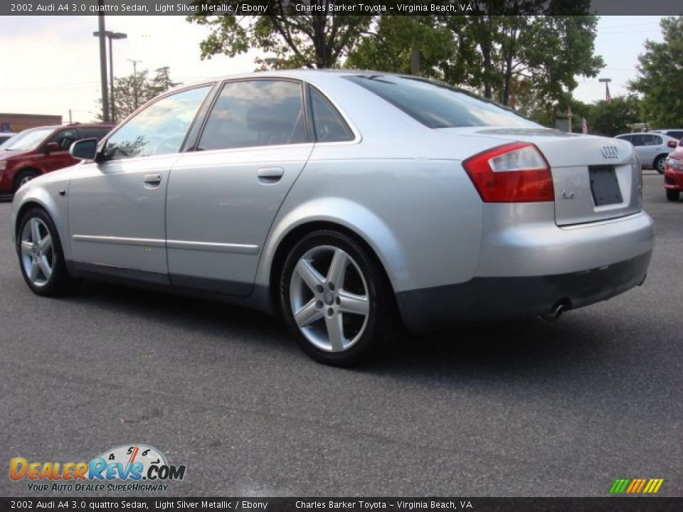 2002 audi a4 3 0 quattro sedan light silver metallic. Black Bedroom Furniture Sets. Home Design Ideas