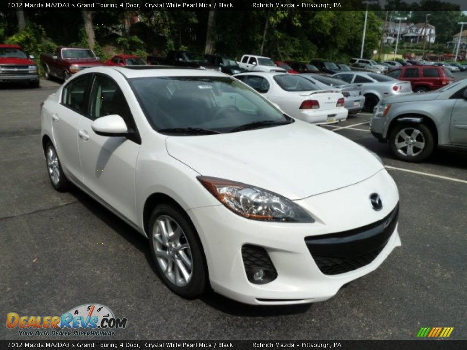 Front 3 4 View Of 2012 Mazda Mazda3 S Grand Touring 4 Door