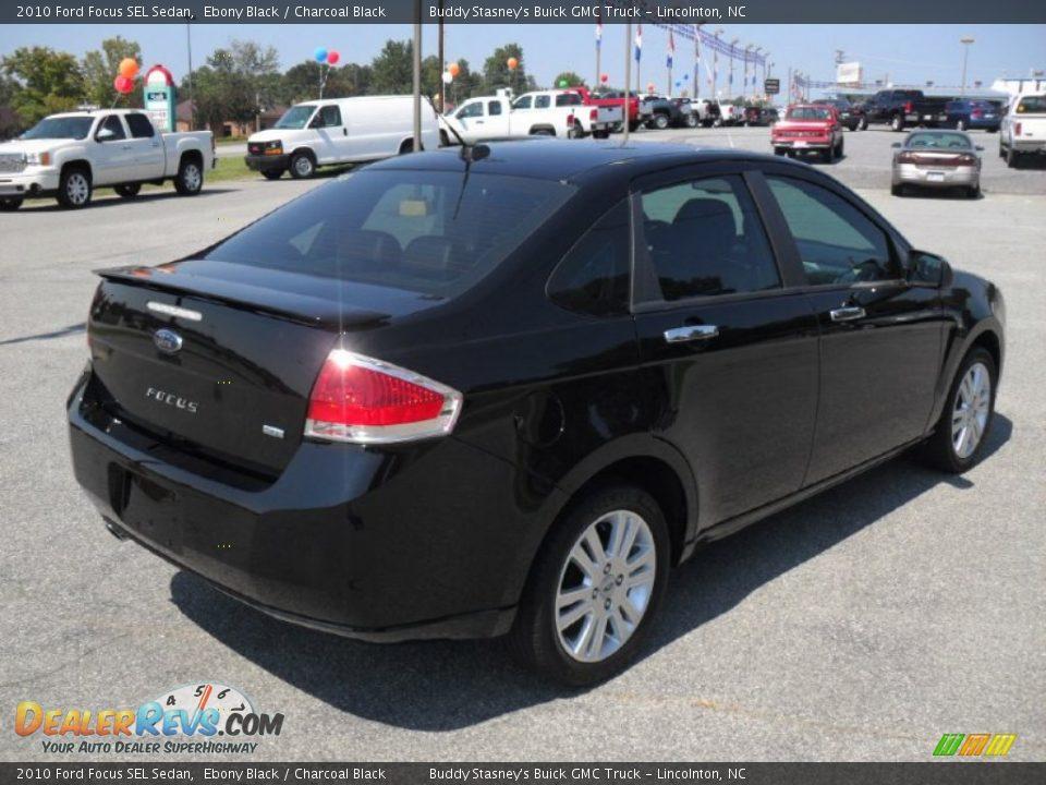 2010 ford focus sel sedan ebony black charcoal black photo 4. Black Bedroom Furniture Sets. Home Design Ideas