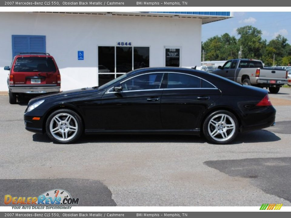 2007 mercedes benz cls 550 obsidian black metallic for 2007 mercedes benz cls