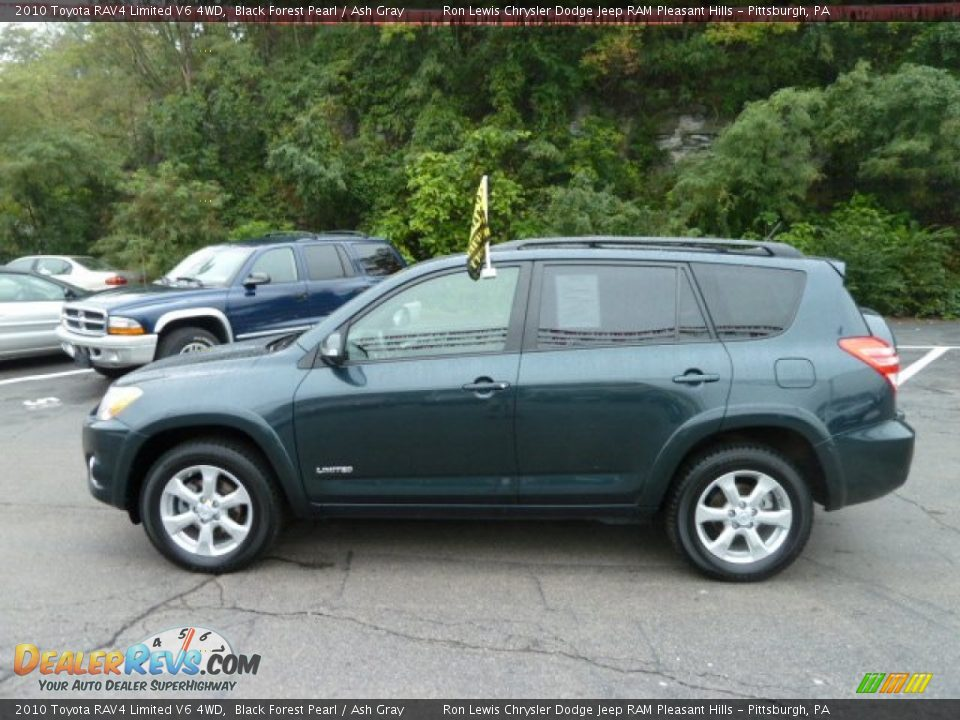 Black Forest Pearl 2010 Toyota Rav4 Limited V6 4wd Photo