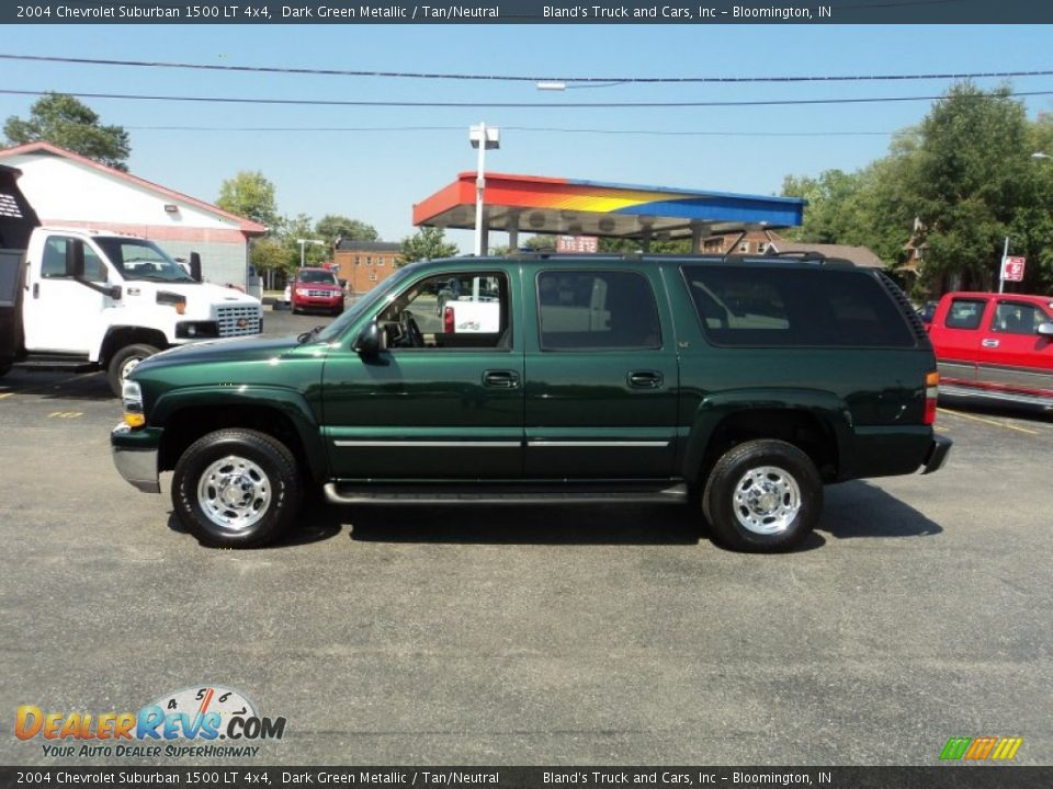 2004 chevrolet suburban 1500 lt 4x4 dark green metallic. Black Bedroom Furniture Sets. Home Design Ideas