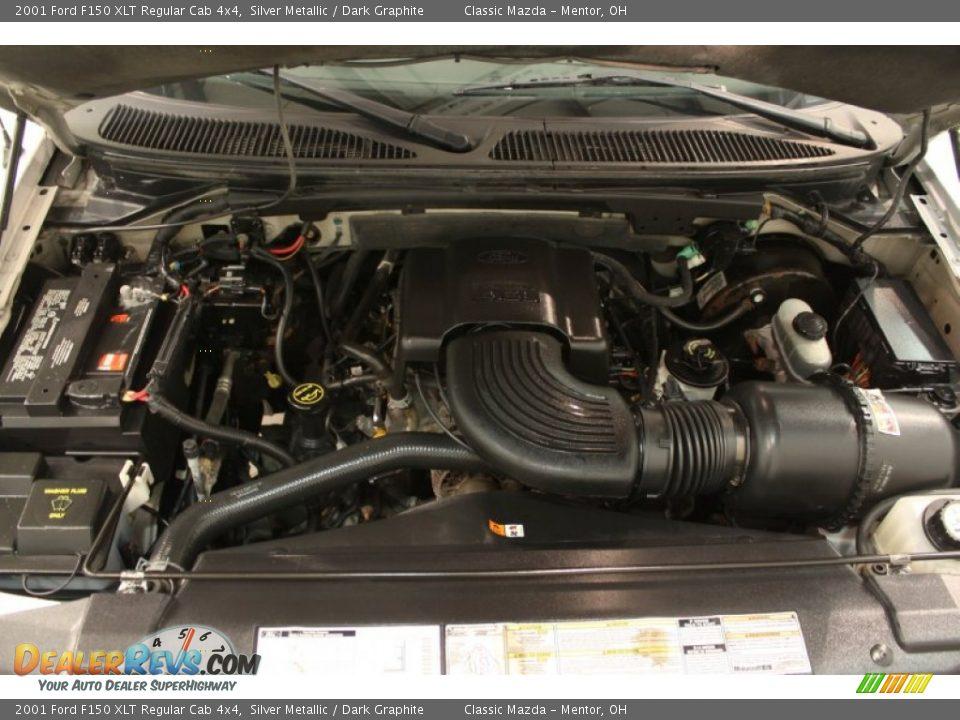 2001 ford f150 xlt regular cab 4x4 4 6 liter sohc 16 valve for Motor ford f150 v8