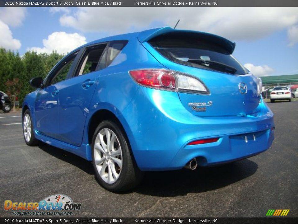 Mazda3 5 Door >> 2010 Mazda MAZDA3 s Sport 5 Door Celestial Blue Mica / Black Photo #3 | DealerRevs.com