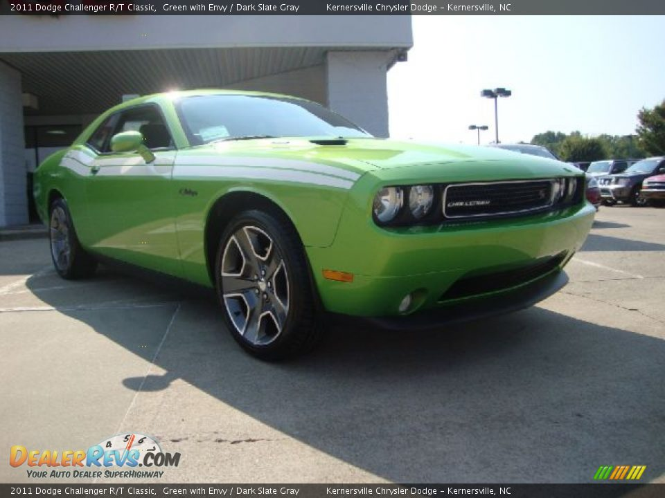 Front 3 4 view of 2011 dodge challenger r t classic photo 1 dealerrevs com