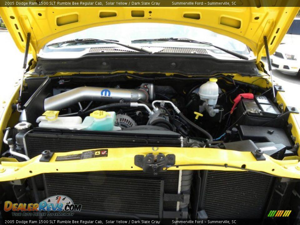 2005 dodge ram 1500 slt rumble bee regular cab 5 7 liter hemi ohv 16 valve v8 engine photo 17. Black Bedroom Furniture Sets. Home Design Ideas