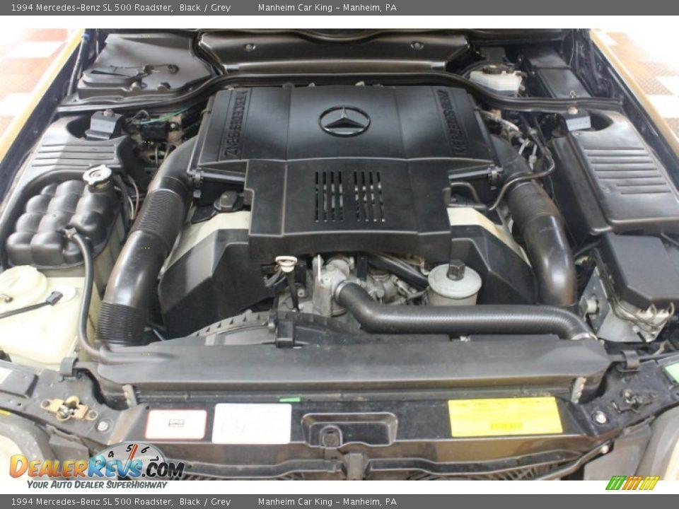 1994 mercedes benz sl 500 roadster 5 0 liter dohc 32 valve for Mercedes benz v8 engine
