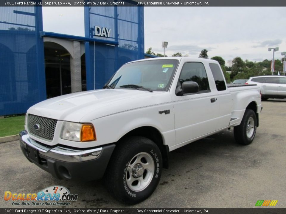 2001 ford ranger xlt supercab 4x4 oxford white dark graphite photo 1. Black Bedroom Furniture Sets. Home Design Ideas