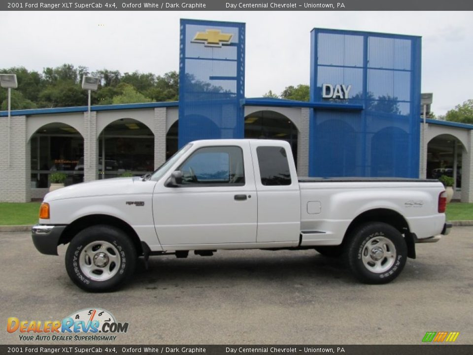 2001 ford ranger xlt supercab 4x4 oxford white dark graphite photo 2. Black Bedroom Furniture Sets. Home Design Ideas