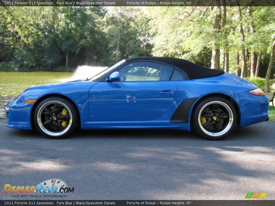 Pure Blue 2011 Porsche 911 Speedster Photo 3 Dealerrevs Com