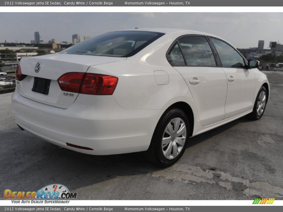 2012 volkswagen jetta se sedan candy white cornsilk beige photo 6. Black Bedroom Furniture Sets. Home Design Ideas