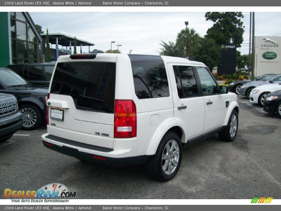 2009 land rover lr3 hse alaska white almond photo 4. Black Bedroom Furniture Sets. Home Design Ideas