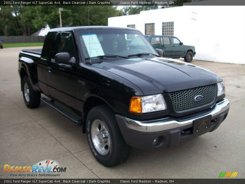 2001 ford ranger xlt supercab 4x4 black clearcoat dark graphite photo 3. Black Bedroom Furniture Sets. Home Design Ideas