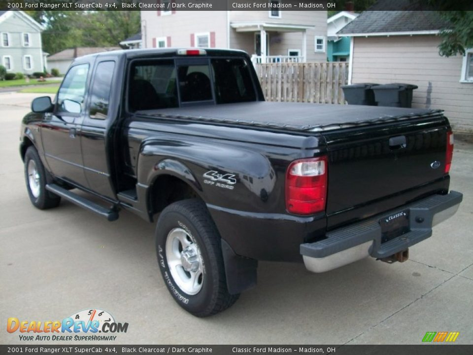 2001 ford ranger xlt supercab 4x4 black clearcoat dark graphite photo 7. Black Bedroom Furniture Sets. Home Design Ideas