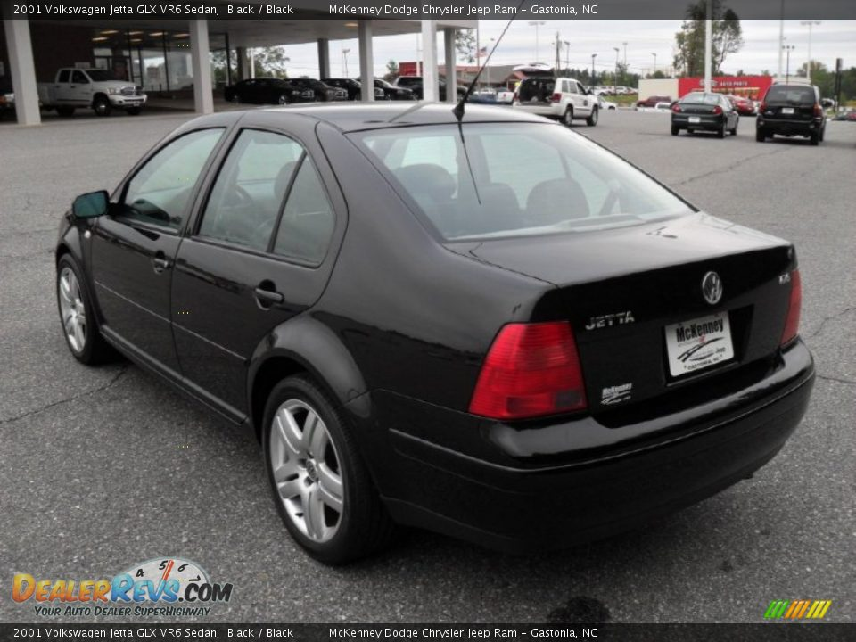 2001 volkswagen jetta glx vr6 sedan black black photo 2. Black Bedroom Furniture Sets. Home Design Ideas