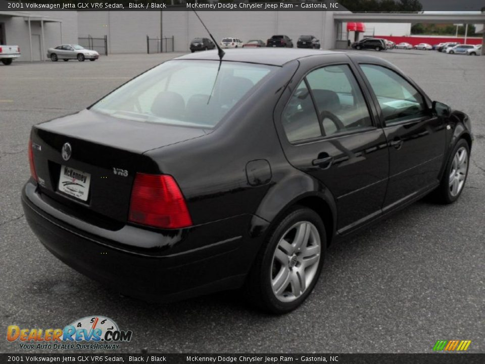 2001 volkswagen jetta glx vr6 sedan black black photo 4. Black Bedroom Furniture Sets. Home Design Ideas