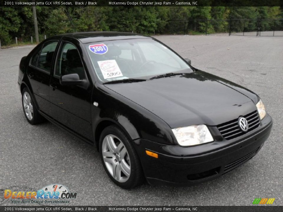 2001 volkswagen jetta glx vr6 sedan black black photo 5. Black Bedroom Furniture Sets. Home Design Ideas