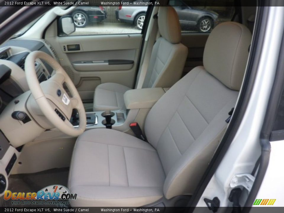 camel interior 2012 ford escape xlt v6 photo 10. Black Bedroom Furniture Sets. Home Design Ideas