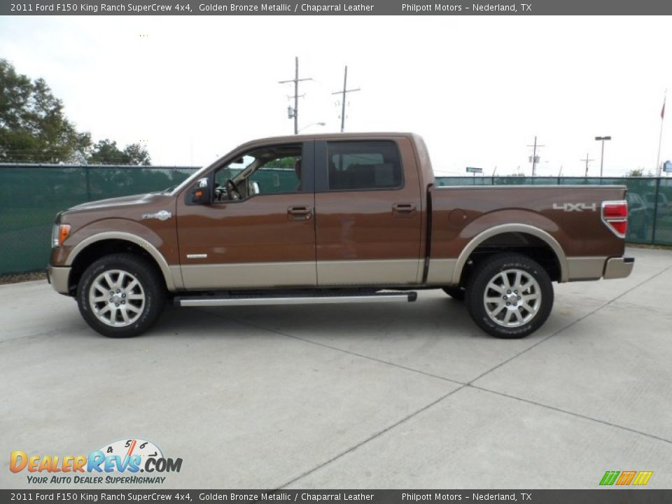 2011 Ford F150 King Ranch Supercrew 4x4 Golden Bronze