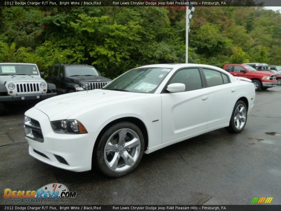 front 3 4 view of 2012 dodge charger r t plus photo 1. Black Bedroom Furniture Sets. Home Design Ideas