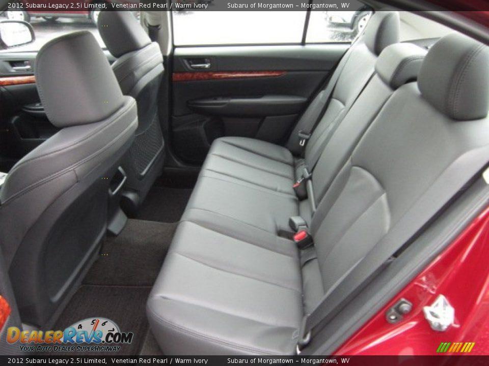 Warm Ivory Interior - 2012 Subaru Legacy 2.5i Limited Photo #13 ...