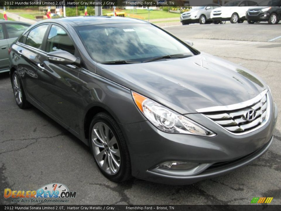 2012 hyundai sonata limited 2 0t harbor gray metallic gray photo 4. Black Bedroom Furniture Sets. Home Design Ideas