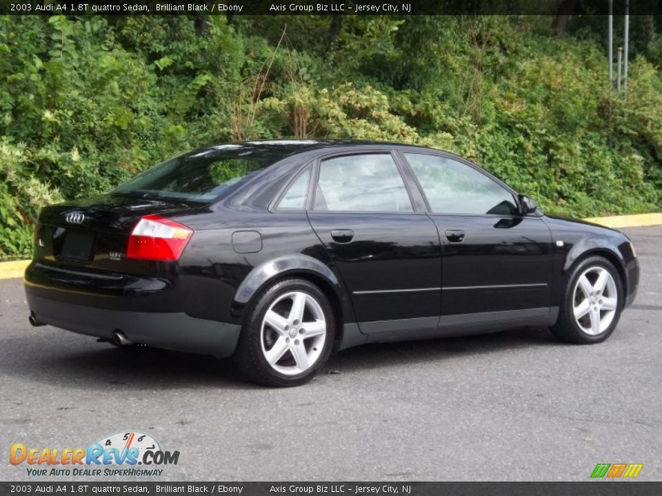 2003 Audi A4 1 8t Quattro Sedan Brilliant Black Ebony