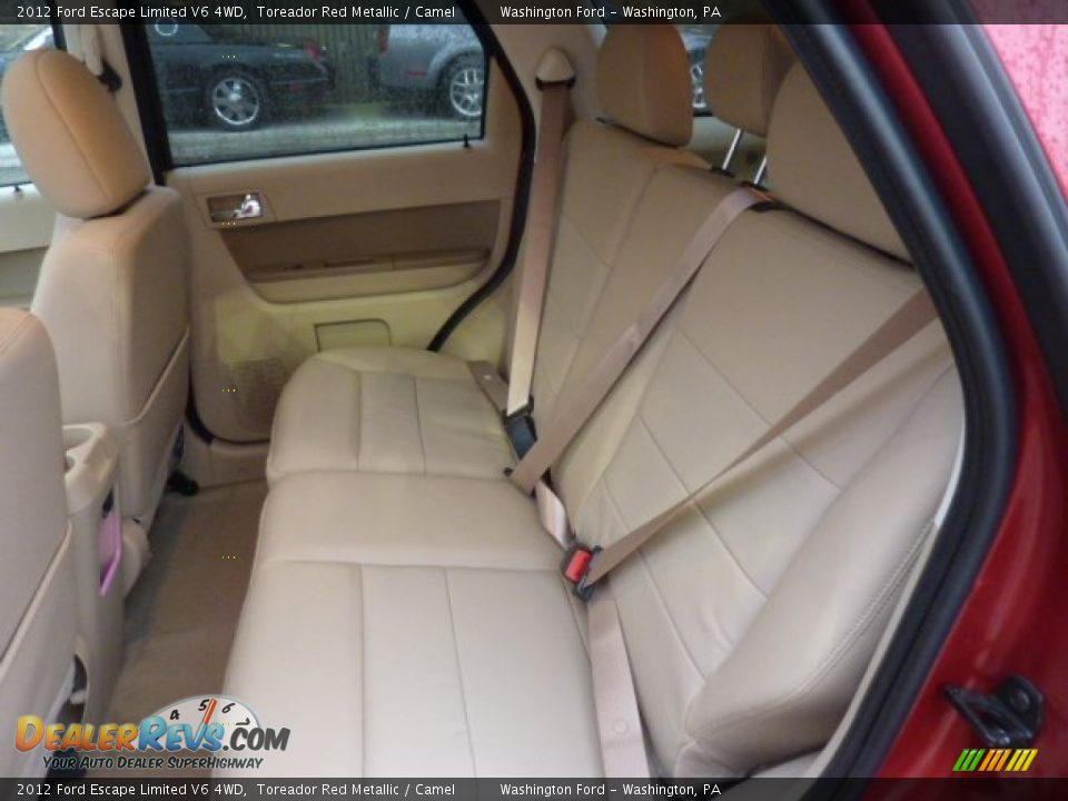 camel interior 2012 ford escape limited v6 4wd photo 11. Black Bedroom Furniture Sets. Home Design Ideas