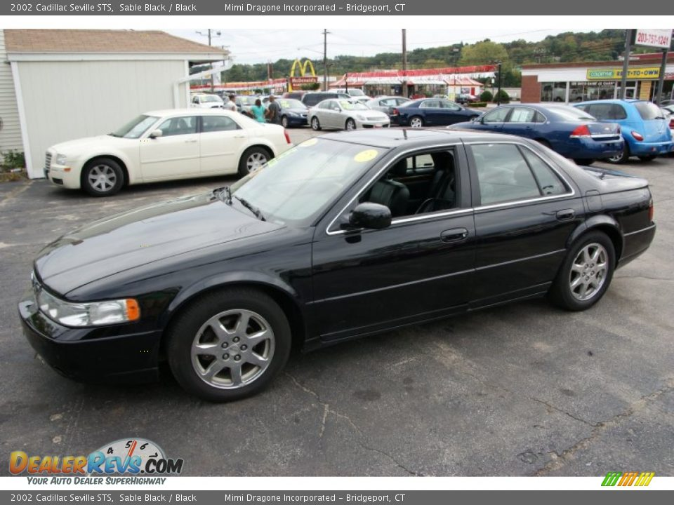 sable black 2002 cadillac seville sts photo 1. Cars Review. Best American Auto & Cars Review