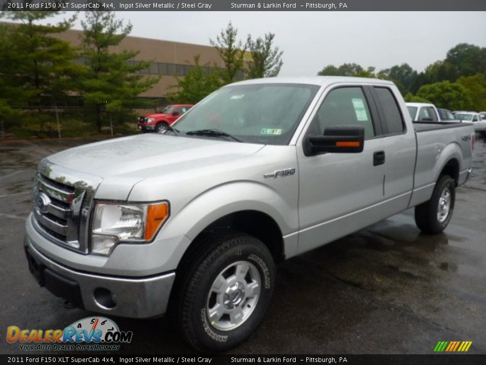 2011 ford f150 xlt supercab 4x4 ingot silver metallic steel gray photo 5. Black Bedroom Furniture Sets. Home Design Ideas