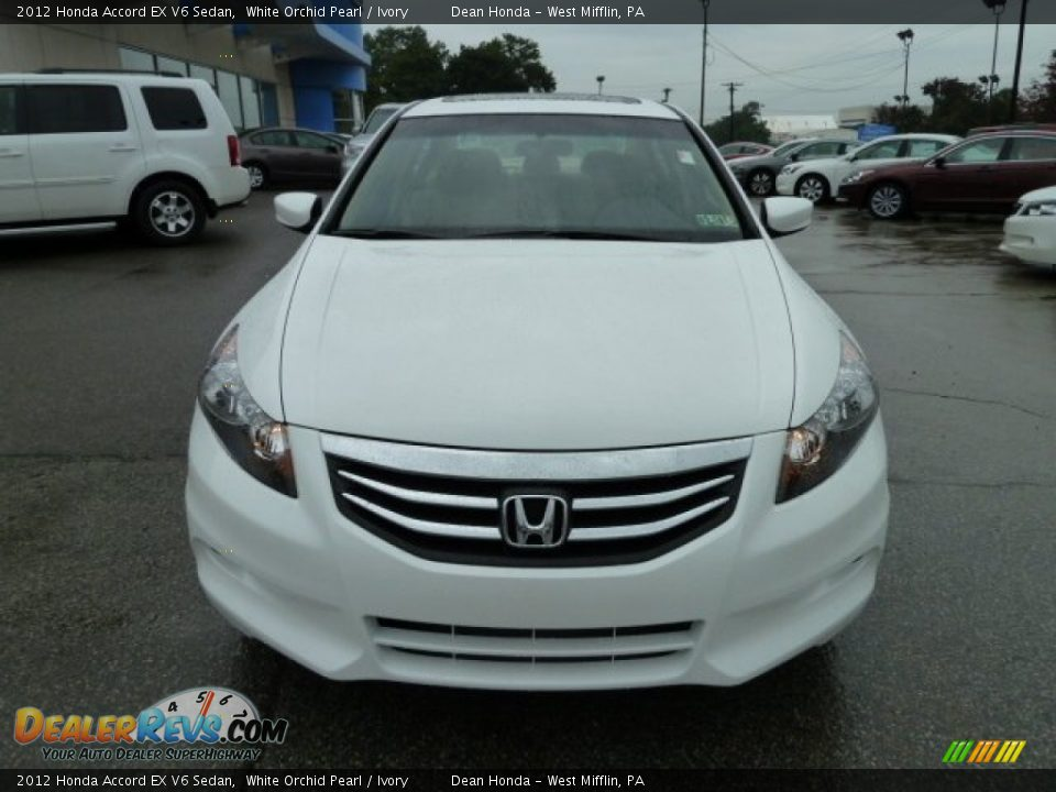 2012 honda accord ex v6 sedan white orchid pearl ivory photo 8. Black Bedroom Furniture Sets. Home Design Ideas