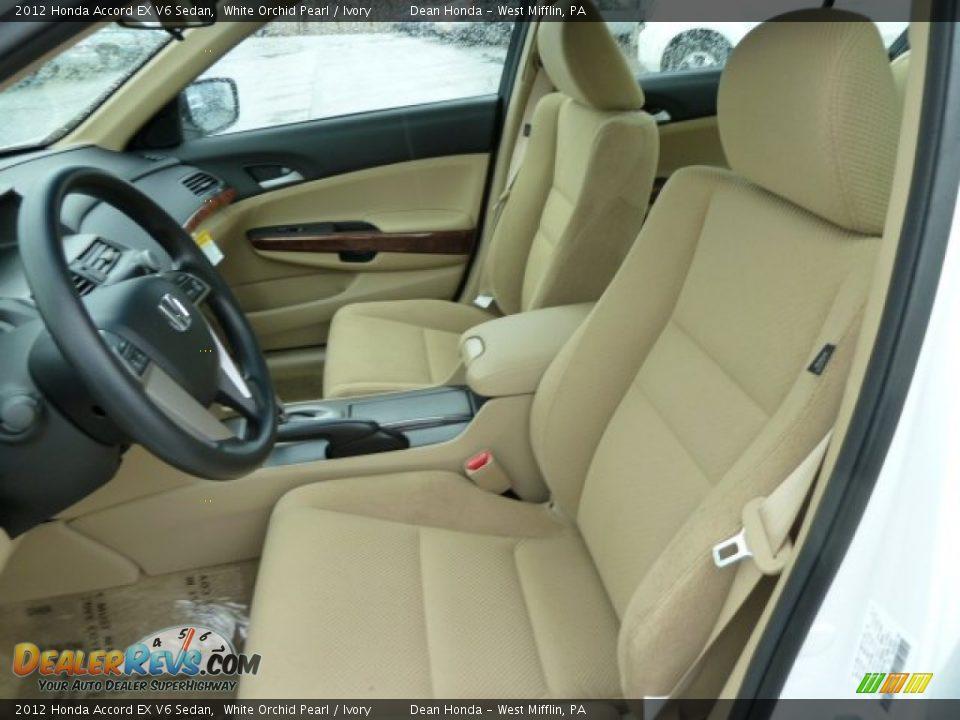 Ivory interior 2012 honda accord ex v6 sedan photo 10 - 2012 honda accord coupe interior ...