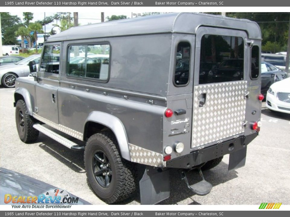 1985 Land Rover Defender 110 Hardtop Right Hand Drive Dark