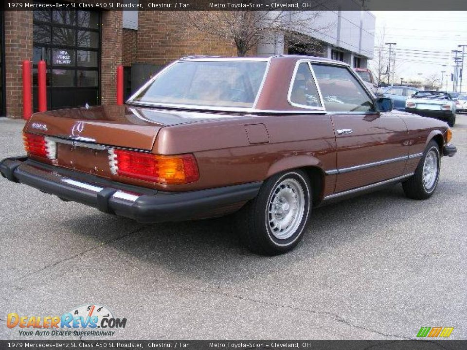 1979 mercedes benz sl class 450 sl roadster chestnut tan. Black Bedroom Furniture Sets. Home Design Ideas