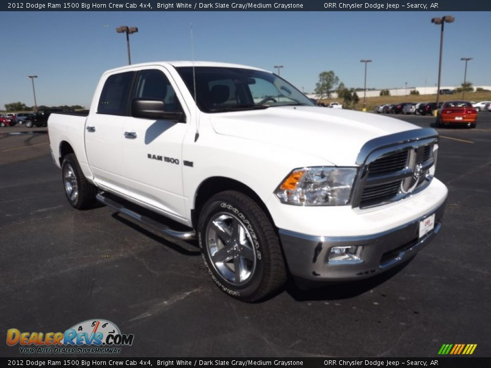 Ram Big Horn >> Front 3/4 View of 2012 Dodge Ram 1500 Big Horn Crew Cab 4x4 Photo #3 | DealerRevs.com