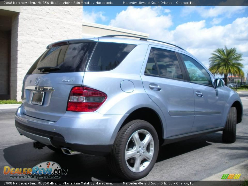 2008 mercedes benz ml 350 4matic alpine rain metallic for Mercedes benz ml 350 2008